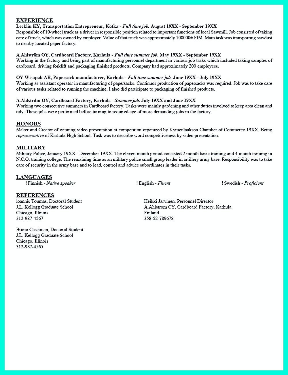 College Resume Current College Student Resume Is Designed For Fresh Graduate