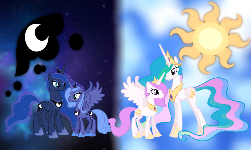 my little pony celestia and lunas parents bing images