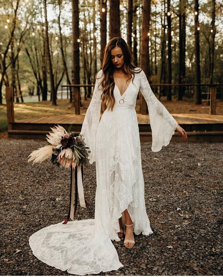 "The Dress Theory Bridal Shop on Instagram: ""It's @ruedeseinebridal trunk show time! We have two spots that opened up in Seattle during the Wild Heart trunk show tomorrow, give us a…"" #bohoweddingdress"
