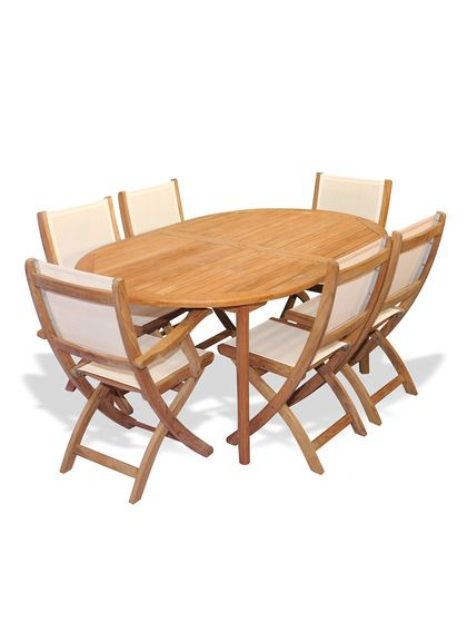 Teak Dining Set Miami (7 PC) By Regal Teak At Gilt