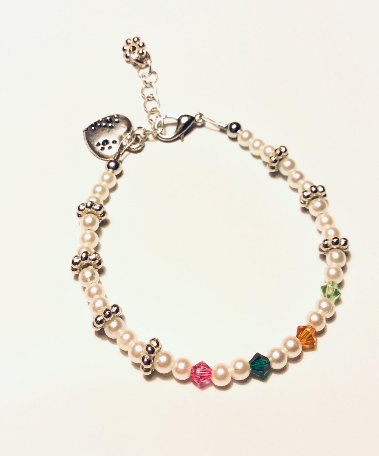 Cool Item Birthstone Bracelet Handmade