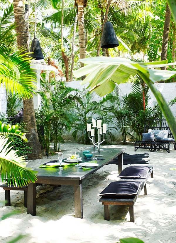 Summer fun in the sun: 41 playful outdoor living spaces ... on Tropical Outdoor Living id=46685