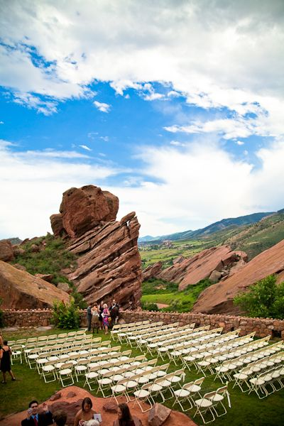 Red Rocks Wedding Love We Say Next To The First Ever Get Married At Rr James Taylor Concert