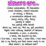 Happy Birthday Step Sister Poems Parents Day Sister Quotes Funny