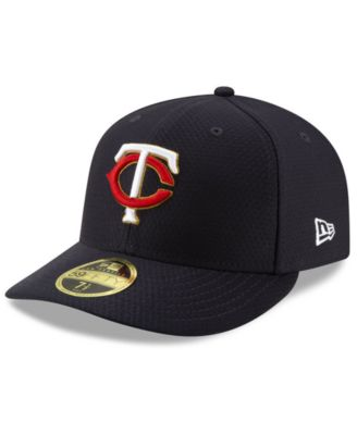 low priced 54463 ad92f New Era Minnesota Twins Spring Training 59FIFTY-fitted Low Profile Cap -  Blue 7 3 8