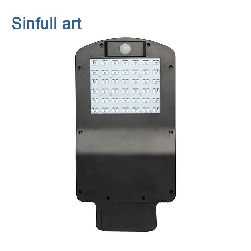 Led Solar Street Light Outdoor Waterproof PIR Sensor Pole