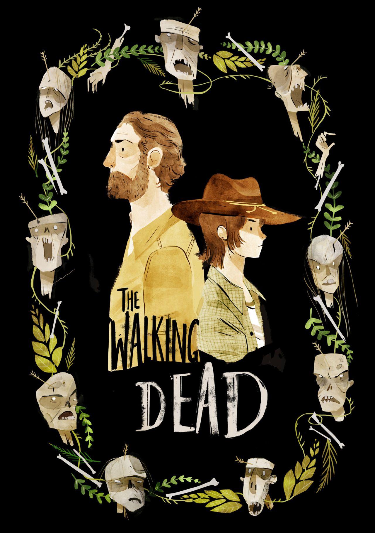 The Walking Dead Fan Art Walking Dead Art Walking Dead Fan Art