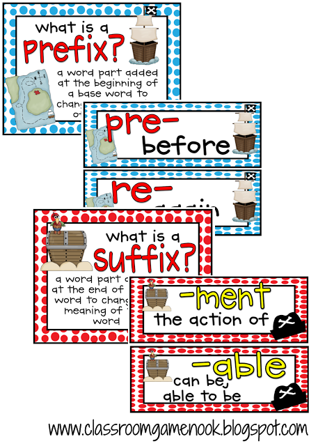 Prefix and Suffix Posters | Word Work | Pinterest