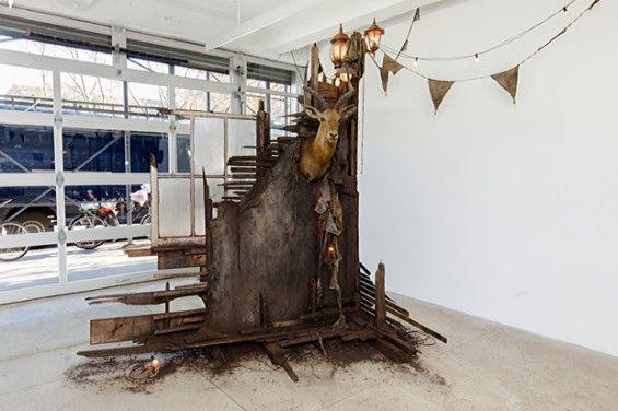 Drew Conrad's Haunting Installations Of Buildings In Disrepair