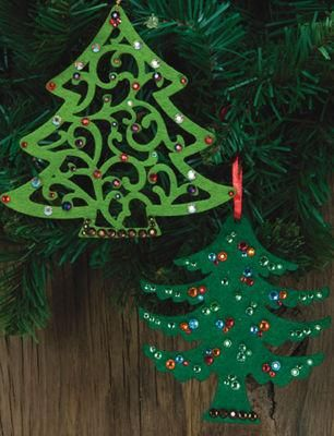 Holiday ornaments snowflakes trees michaels craft for Christmas trees at michaels craft store