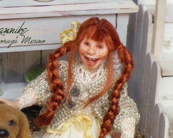 soraya merino dolls | JANNIKE Zugvögel Mädchen Kollektion Winter Child 01:12 Puppenhaus ...
