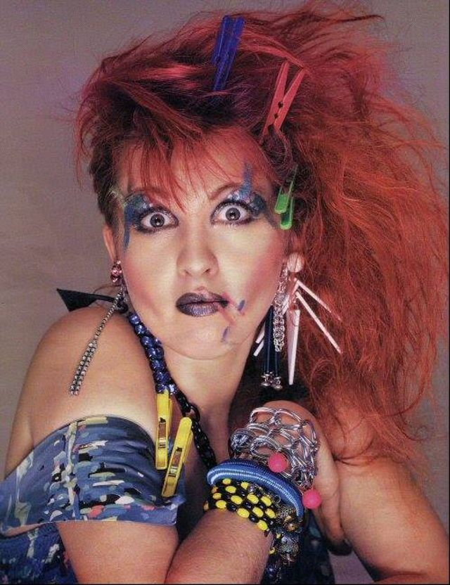1980s Hair And Makeup History With Images Cyndi Lauper Cyndi