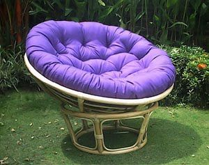 @Lisa A is surprised it took me this long to pin a Papasan into the perfect library design. There would be at least 3. Including one in the YA section, one on the porch, one near poetry.