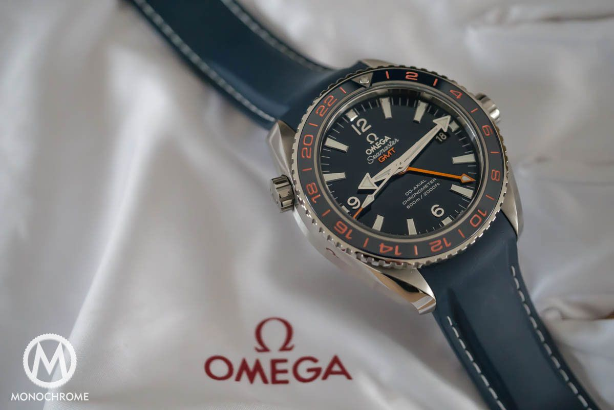 Omega seamaster planet ocean gmt review