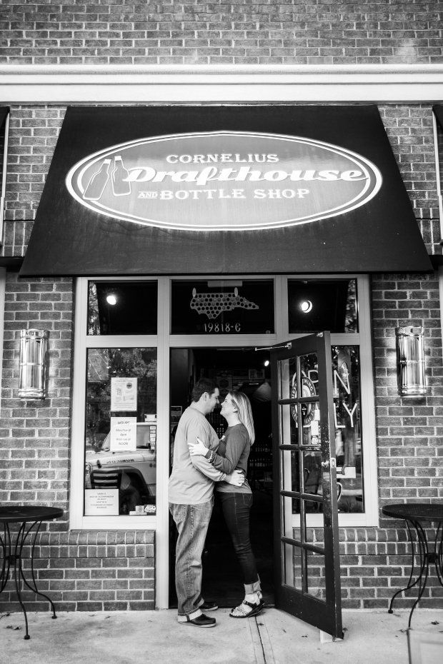 Lake Norman, Cornelius, NC Engagement Photography (With