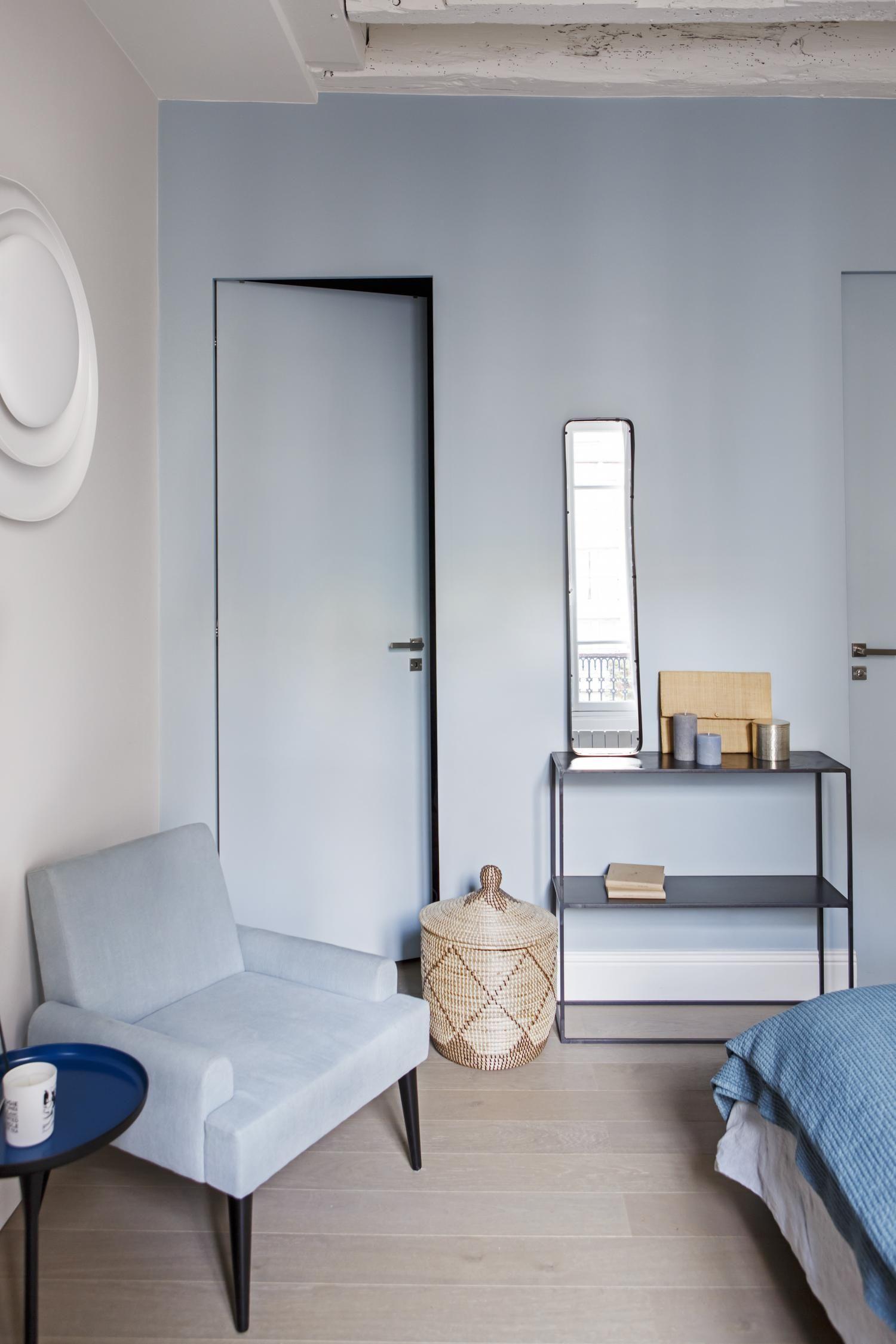 Bleu Trendy A Paris Planete Deco A Homes World Decoration Interieure Salon Moderne Sallon Salle A Manger Agence Architecture