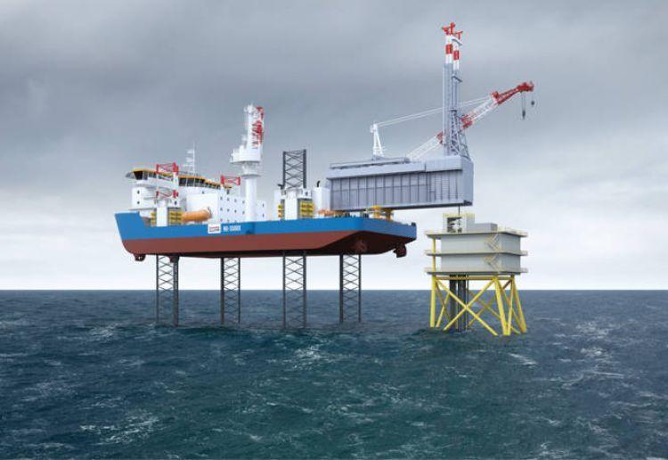 GustoMSC unveils new light drilling jack-up rig design