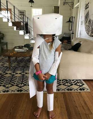 Chip and Joanna Gaines Have Made Peace with the Writer Who Criticized Their Parenting #chipandjoannagainescostume Emmie channels both mom and dad with this goofy crafted robot costume. I like Saturdays, Joanna sa... - Joanna Gaines/Instagram #chipandjoannagainescostume Chip and Joanna Gaines Have Made Peace with the Writer Who Criticized Their Parenting #chipandjoannagainescostume Emmie channels both mom and dad with this goofy crafted robot costume. I like Saturdays, Joanna sa... - Joanna Gaine #chipandjoannagainescostume