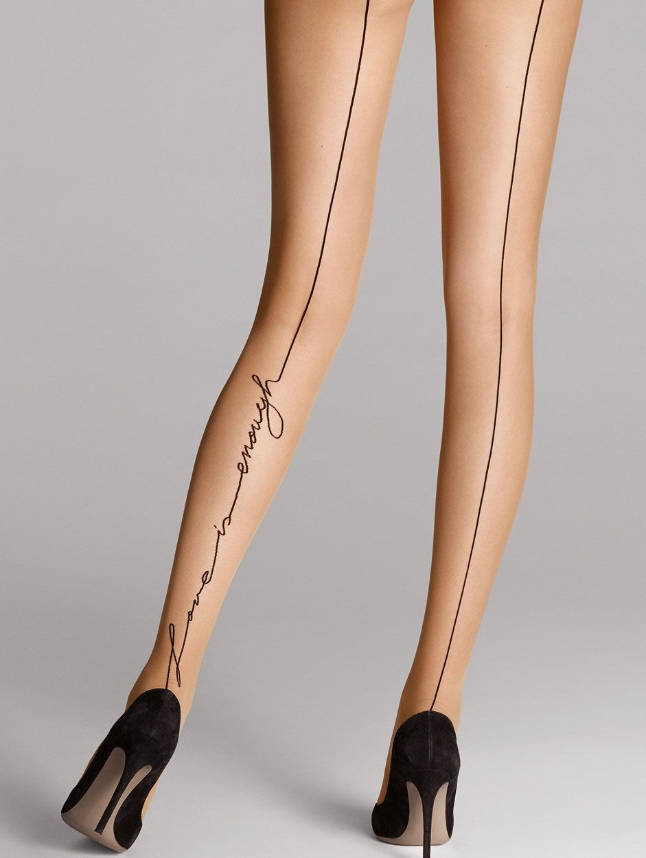 """Wolford panty """"Love is enough"""""""