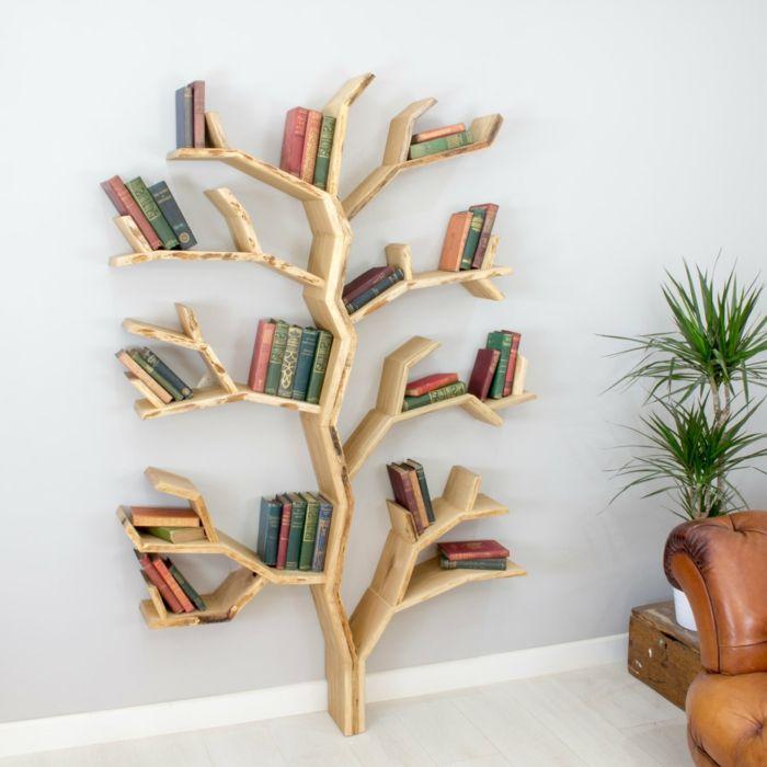 meuble bibliothque en forme darbre