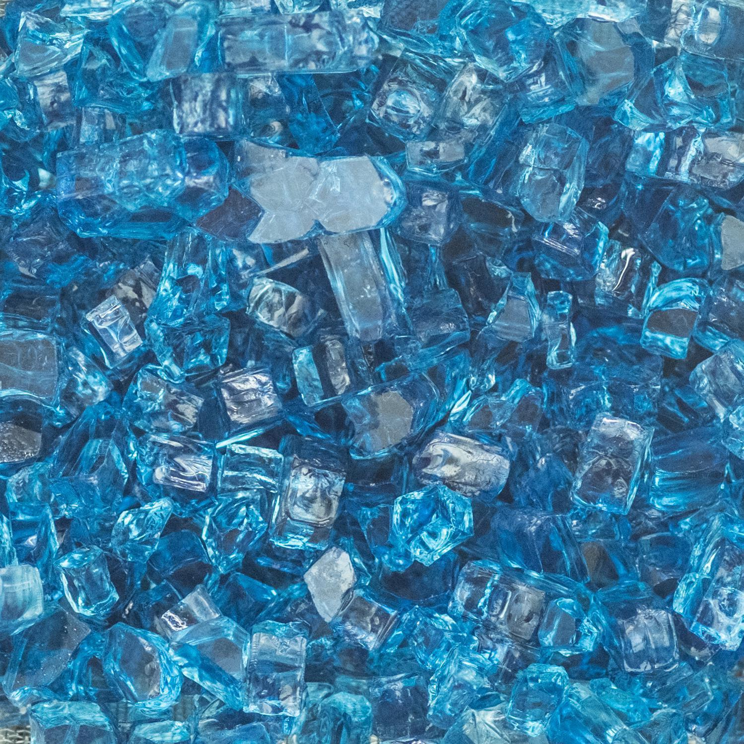 Lakeview Outdoor Designs 1 2 Inch Sky Blue Fire Glass 1 Pound