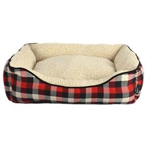 Rectangular Cuddler Dog Bed