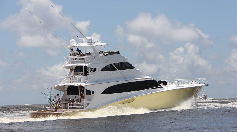 Яхты для ловли тунца