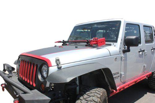 Jeep Wrangler 07 13 Jk Hood Hinge Hi Lift Farm Jack Mount Jack