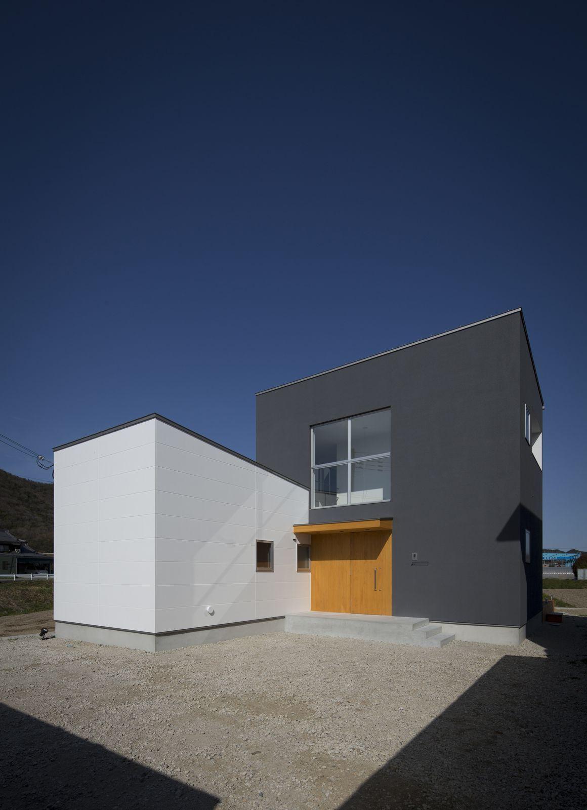 ヌーディストテラスハウスの外観2 建築設計事務所 テラスハウス