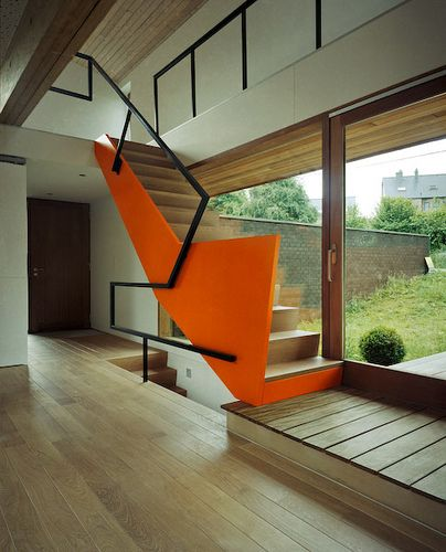 Dmn house in malmedy also up and down pinterest stairs rh