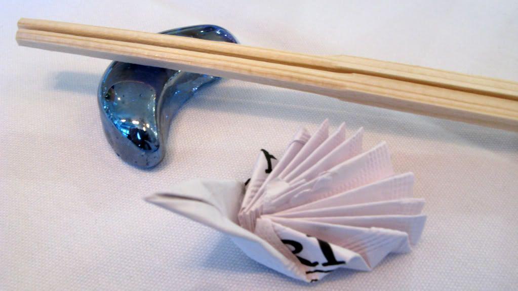 fancy Chopsticks | real chopsticks by the way my friend made that fancy chopsticks holder