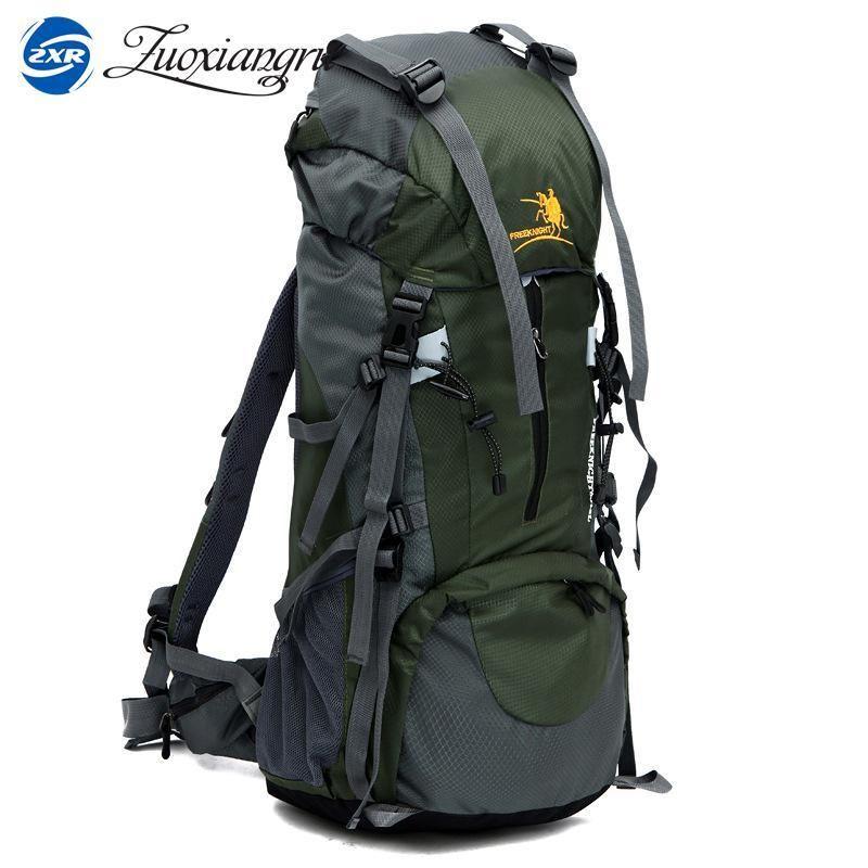 b00e68d760d8 Best Large 70L Free Knight Professional CR System Climb backpack Travel  Camp Equipment Hike Gear Trekking Rucksack for Men Women