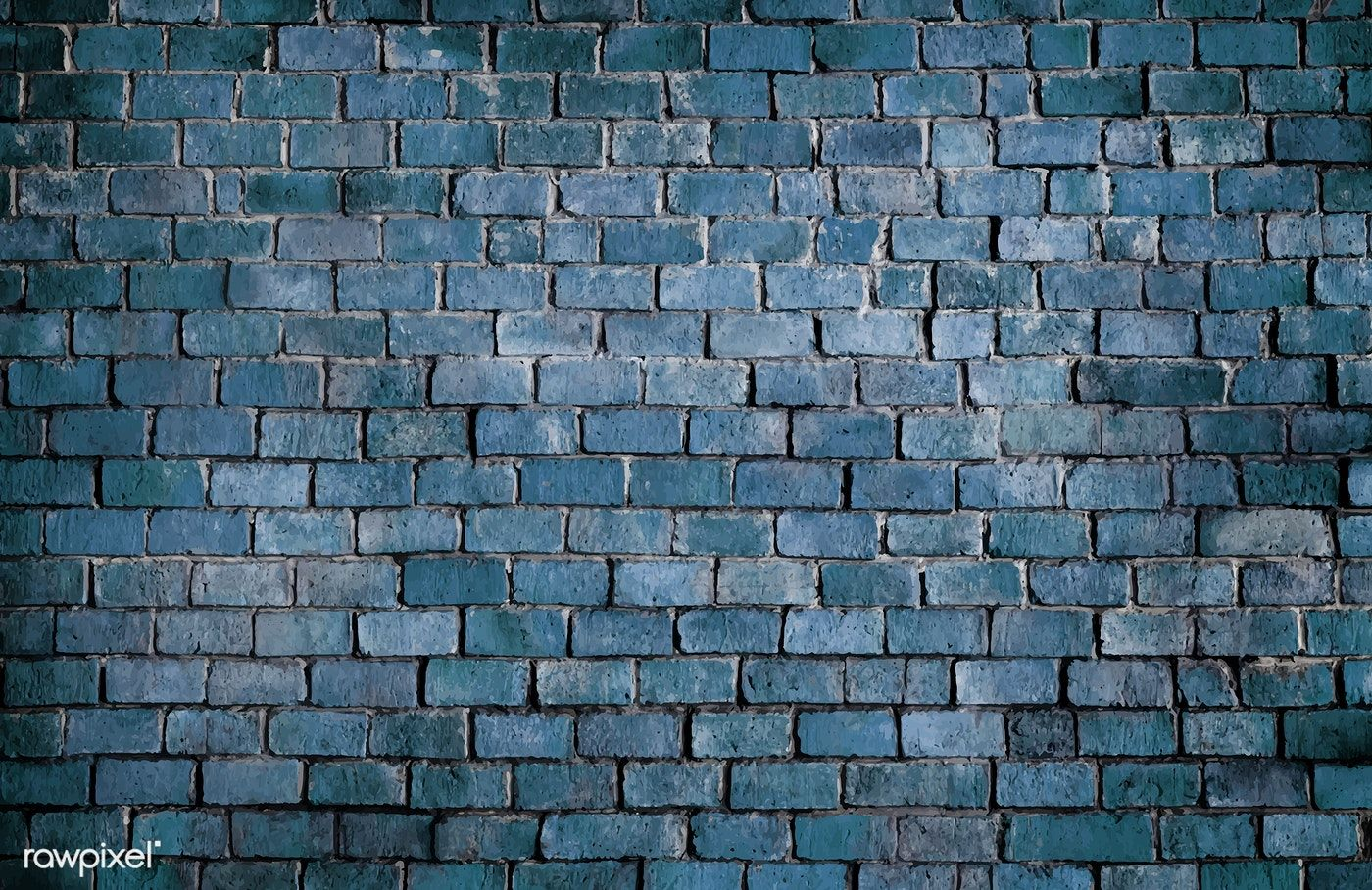 Blue Textured Brick Wall Background Free Image By Rawpixel Com Brick Wall Background Brick Wall Backdrop Brick Wall