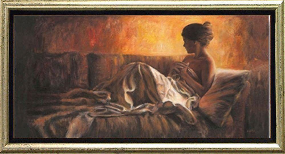 Home affaire »Frau auf Sofa« braun, (B/H): 105/55cm Jetzt bestellen unter: https://moebel.ladendirekt.de/dekoration/bilder-und-rahmen/bilder/?uid=09486567-f719-5aea-a91a-fae817dffaf5&utm_source=pinterest&utm_medium=pin&utm_campaign=boards #bilder #rahmen #dekoration