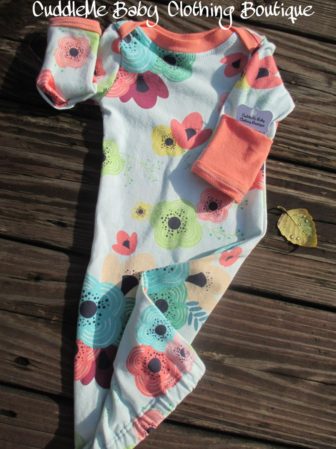 Custom Baby Gown  pinned by pinetsycom  Getting Ready For Baby