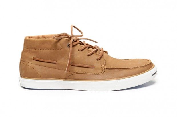 Converse Jack Purcell Mid-Top Leather