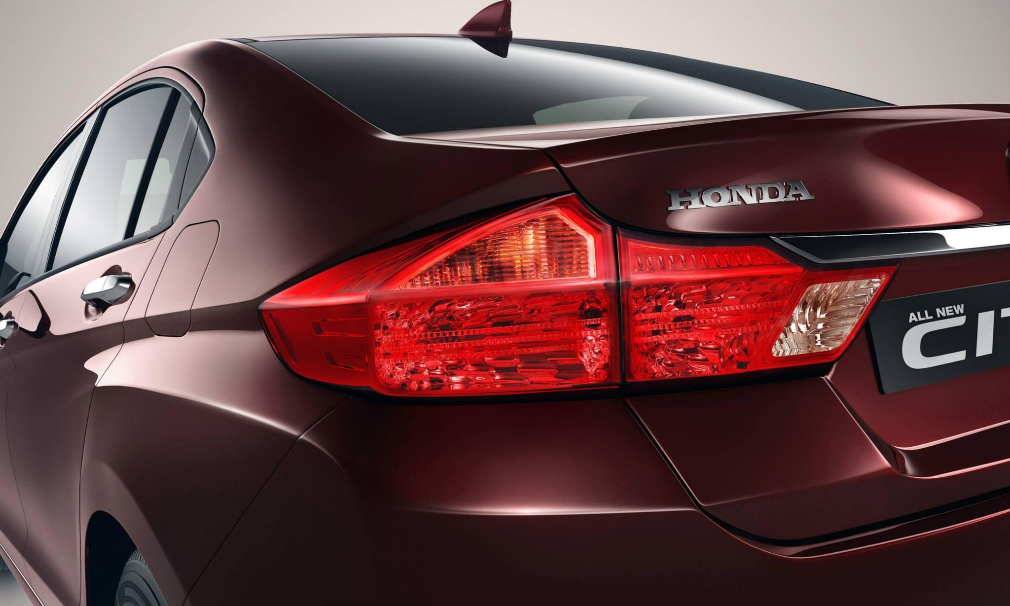 2014 new honda city tail light