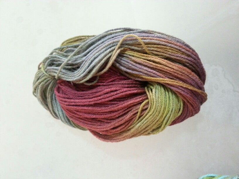 Organic colors, dyed with plants ( Feza Yarn )