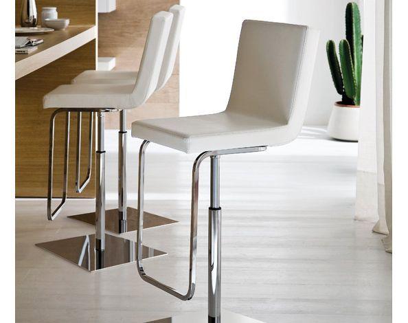 Domitalia Afro Barstool With Chrome Base Special Deal Modern Bar Stools Modern Kitchen Design Modern Home Bar