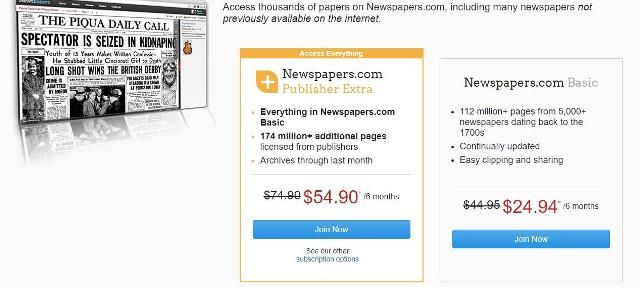 Save $20 on a 6-month subscription at Newspapers Normally