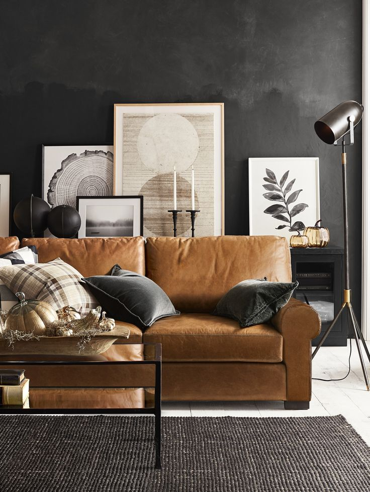 Best Love The Contrast Of The Caramel Sofa With The Tricorn 400 x 300
