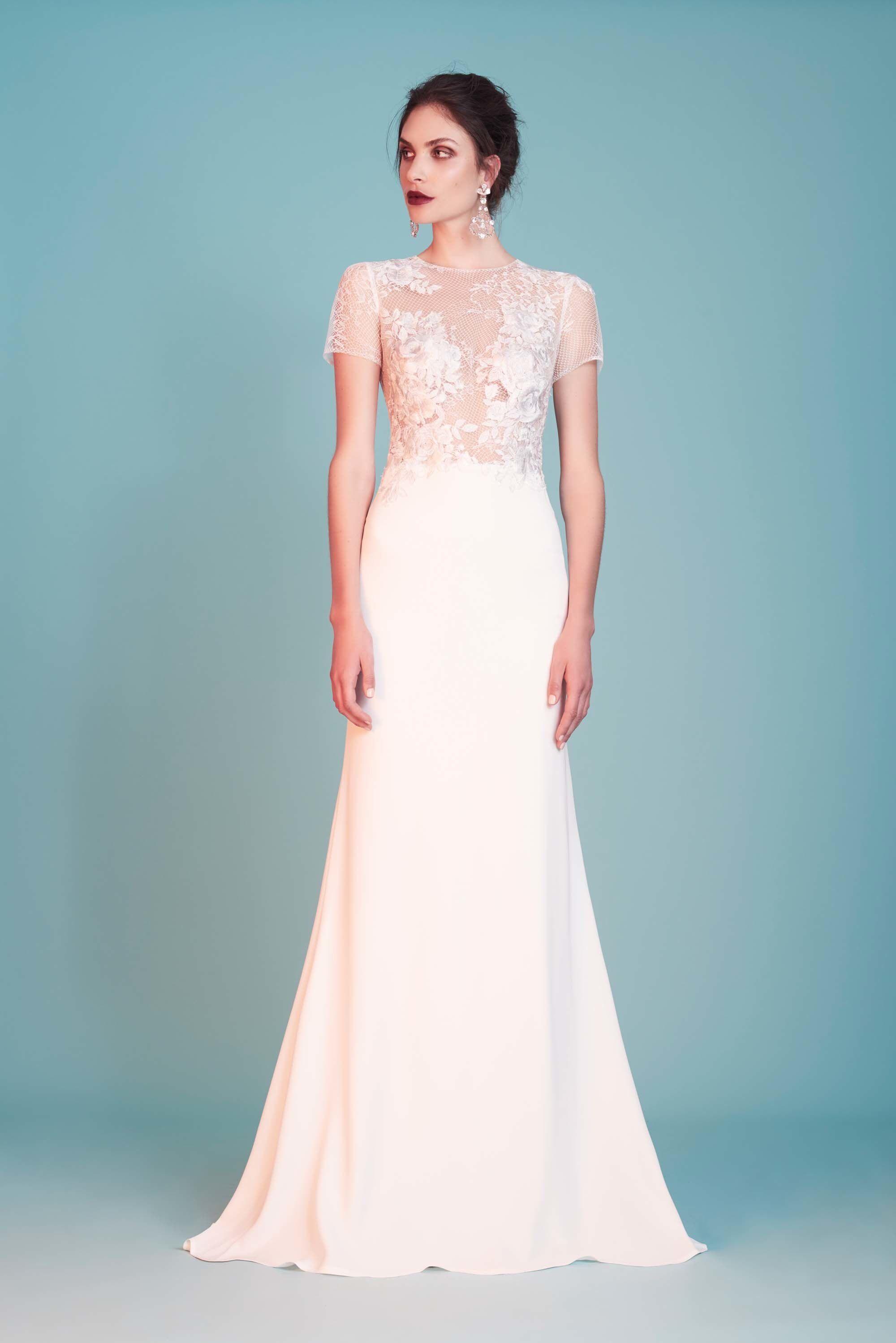 Tadashi Shoji Bridal Spring 2018 Fashion Show | Pinterest | Vestidos ...