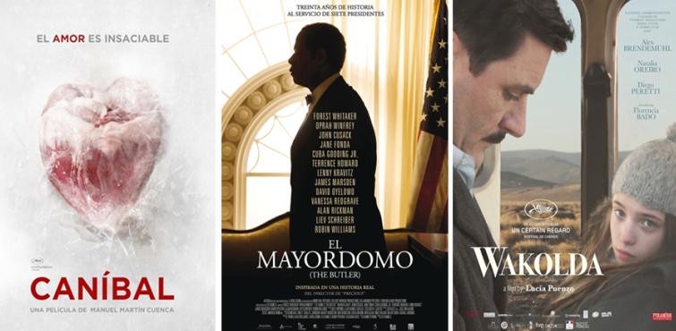 ¡Ya están aquí! Los #estrenos de la semana: 'Caníbal', 'El mayordomo' y 'El médico alemán'. #Cine