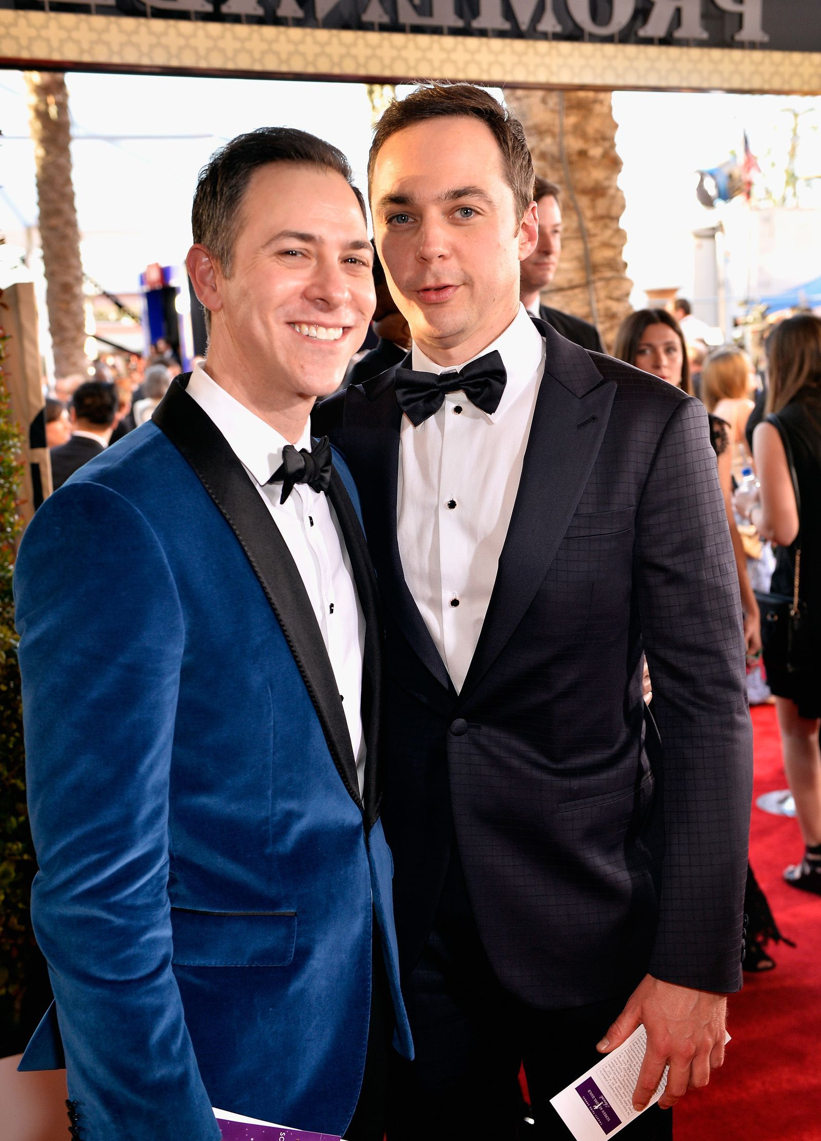 37 Celebrity Couples So Secretive You Forgot They Re Dating Jim Parsons Celebrity Couples Cutest Couple Ever