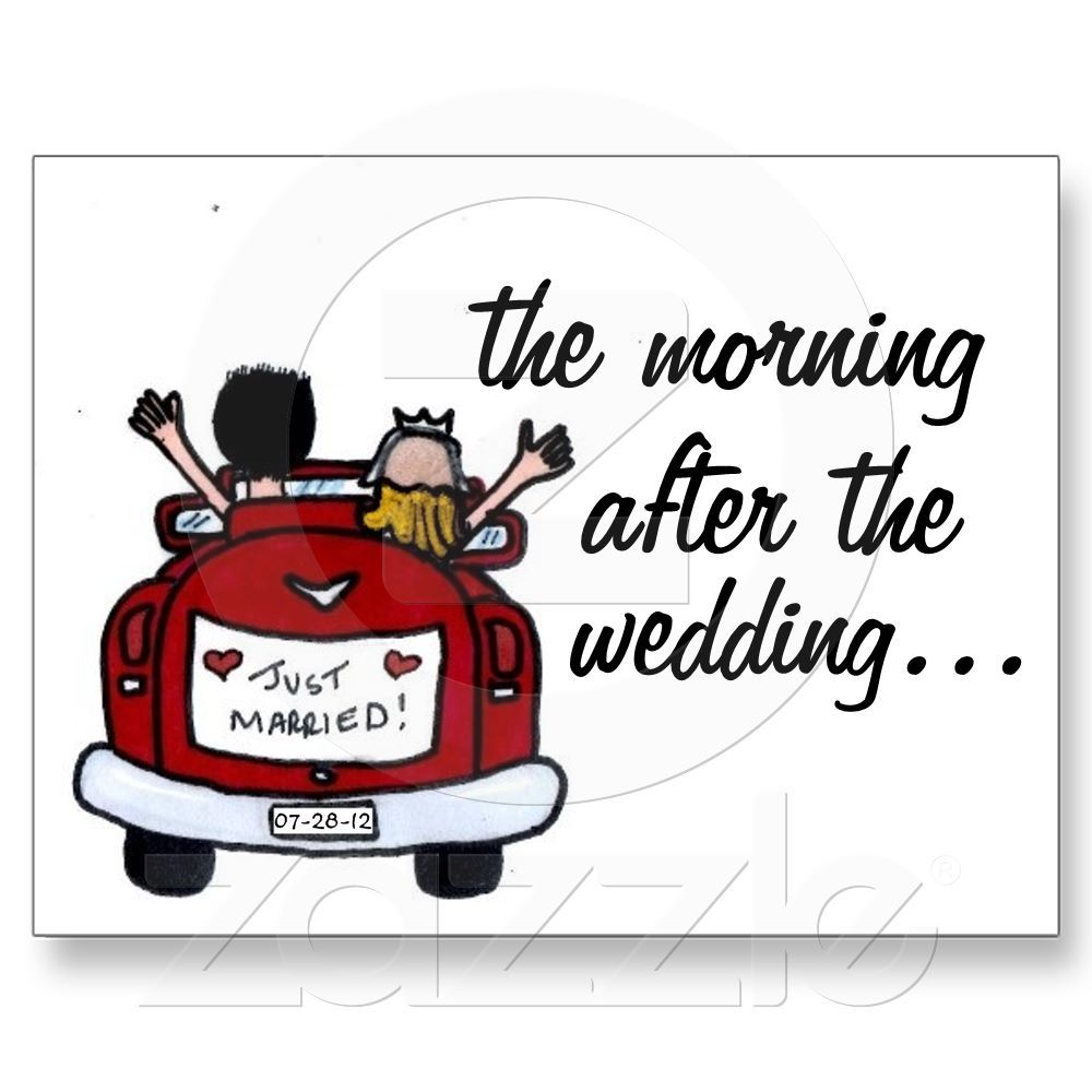 Wedding Breakfast Invite Post Cards | Wedding breakfast, Post card ...