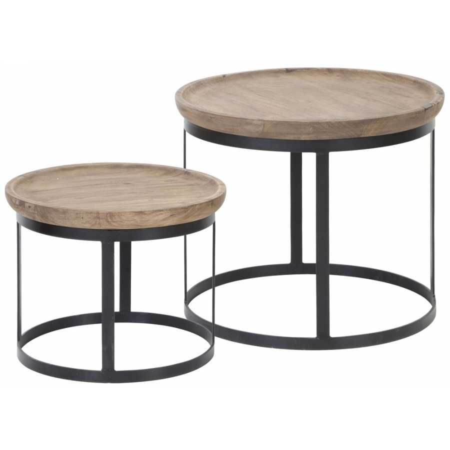 Light And Living Machala Coffee Tables Set Of 2 Coffee Table Setting Coffee Table Black Coffee Tables [ 900 x 900 Pixel ]