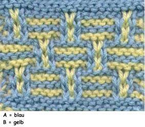 Hebe Korbmuster Knit Deutsche Schriften Pinterest Knitting