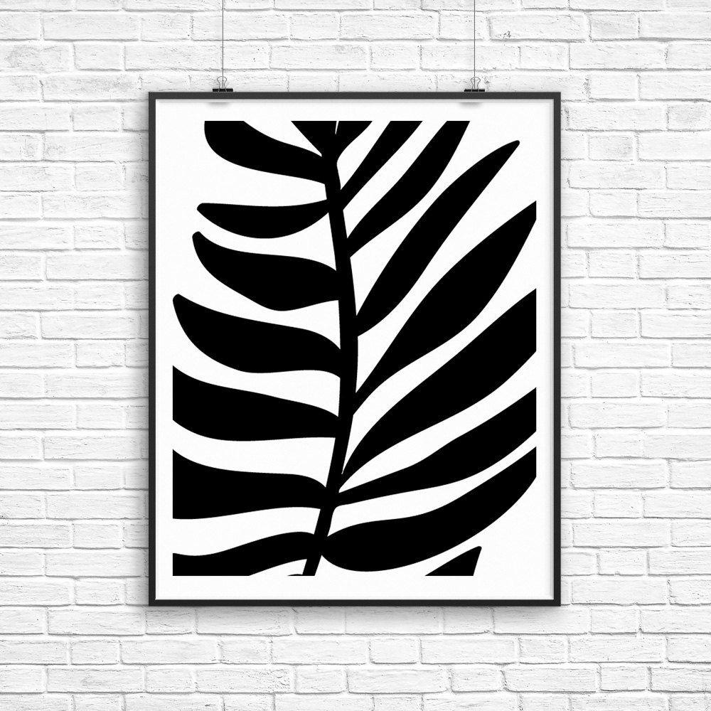 Plant print palm frond palm leaf bedroom prints plant wall art plant print palm frond palm leaf bedroom prints plant wall art amipublicfo Images