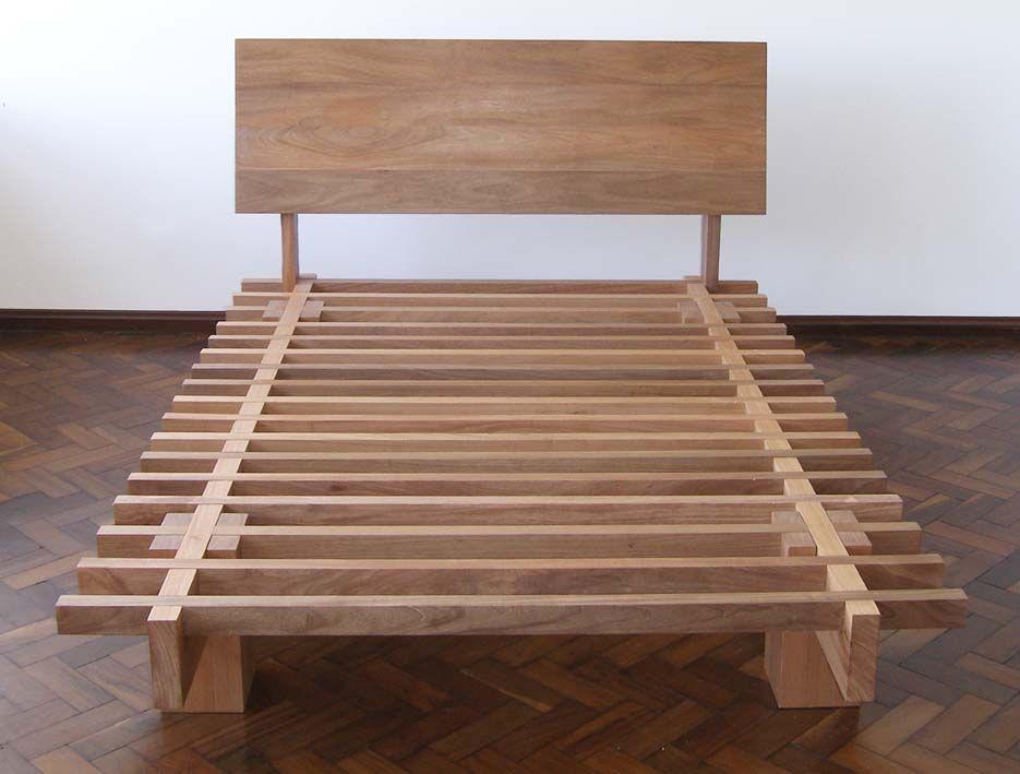 camabú: estrutura de encaixe; madeira maciça / jequitibá; dimensão ...