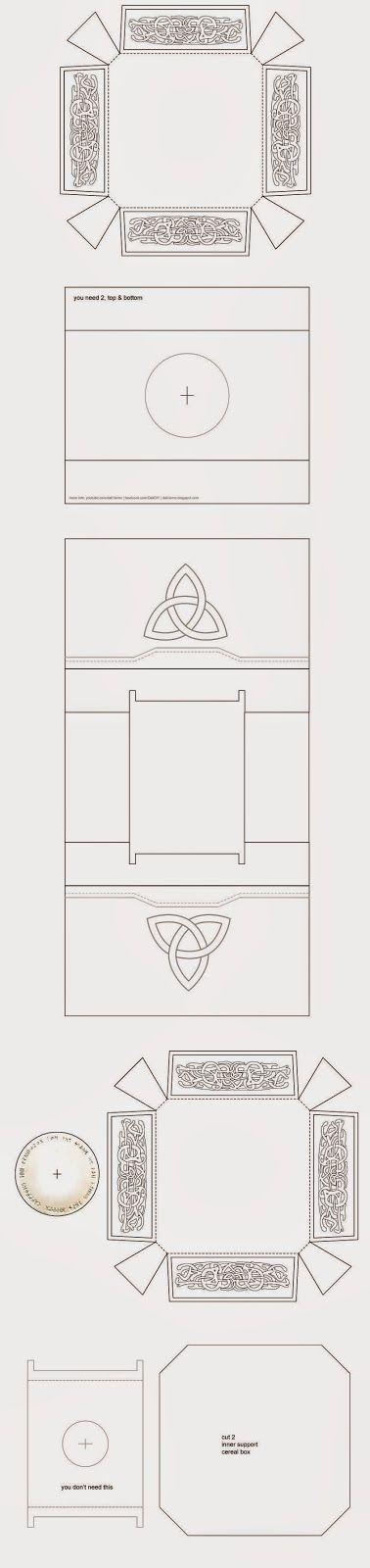 Thor Hammer - Mjölnir Cardboard DIY (free template) | Pinterest ...